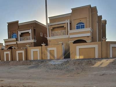 5 Bedroom Villa for Sale in Al Mowaihat, Ajman - Upscale new villa in a prime location for sale