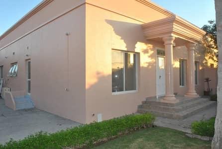 فیلا 3 غرف نوم للايجار في أم سقیم، دبي - single story independent 3bhk with garden villa in umm suqeim 3 rent is 180k