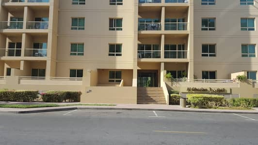 THE GREENS AL GHOZLAN 1BHK FOR RENT 38000/-4 CHEQUES