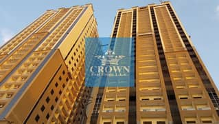 HOT DEAL !!! CHEAPEST 1 BHK  FOR SALE IN GOLDCREST DREAMS TOWER A 150,000/- WITH FEWA CHARGES PAID