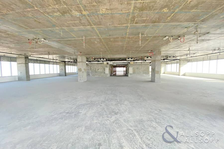 Full Floor | Shell & Core | 17 Parking Spaces
