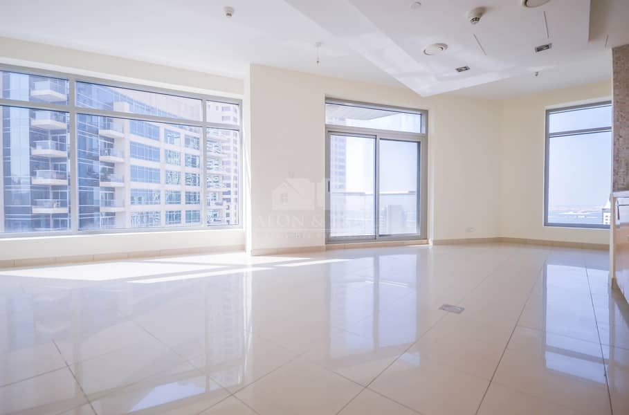 Nice 1 bed with Balcony | High floor | Marina view