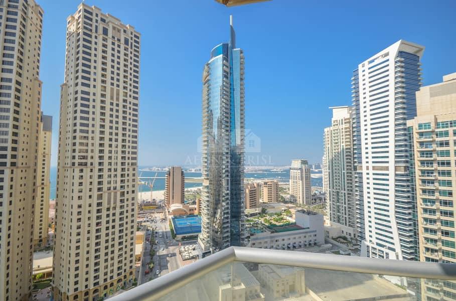 20 Nice 1 bed with Balcony | High floor | Marina view
