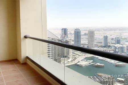 2 Bedroom Apartment for Rent in Jumeirah Beach Residence (JBR), Dubai - 2 Bedroom | 1270 Sq.Ft. | Balcony | Vacant