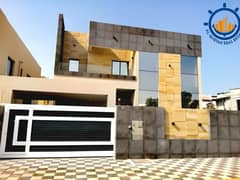 Wonderful villa for sale in the Emirate of Ajman, at a very special price, with a modern design