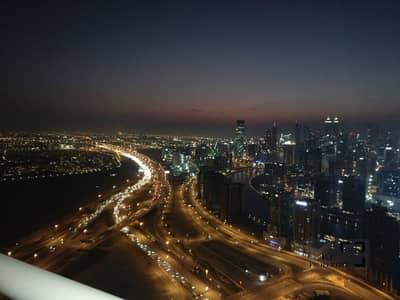 فلیٹ 1 غرفة نوم للبيع في الخليج التجاري، دبي - Creek View | High Floor | Rented