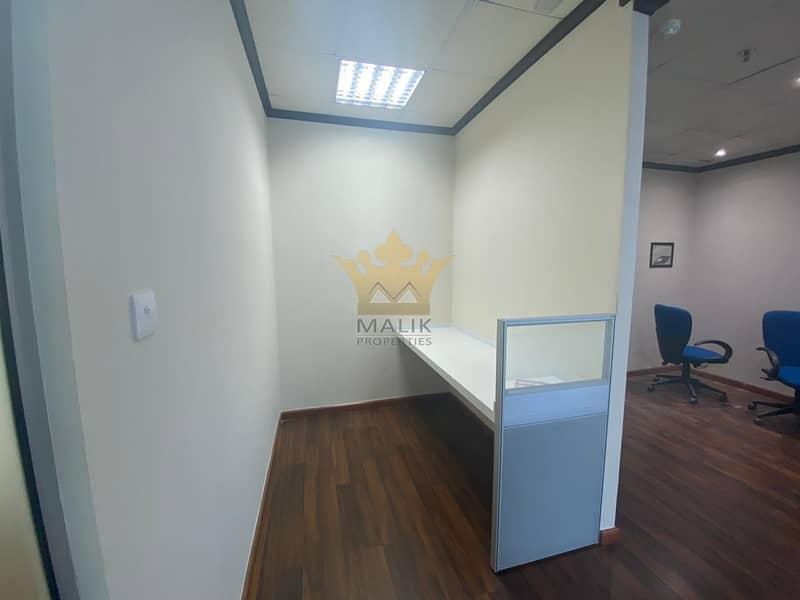 2 Prime Location Fitted Office Low Floor