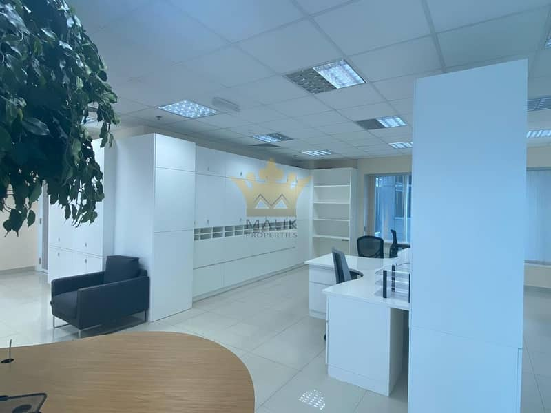 2 Fully Furnished Office Chiller Free Close To Metro