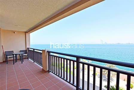 شقة 1 غرفة نوم للايجار في نخلة جميرا، دبي - February | Freshly painted | Burj Al Arab view