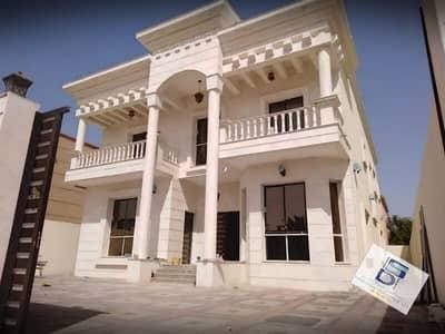 فیلا 6 غرف نوم للبيع في المويهات، عجمان - فيلا مع مكيفات مركزية جاهزة موجوده حجر بالكامل بناء شخصي للبيع