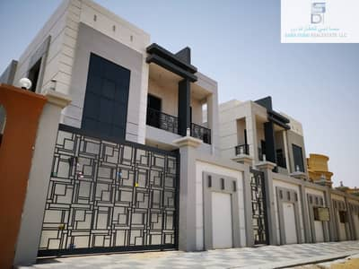 فیلا 6 غرف نوم للبيع في المويهات، عجمان - فيلا مودرن للبيع مع تشطيب رائع جدا جدا ومساحة بناء كبيرة