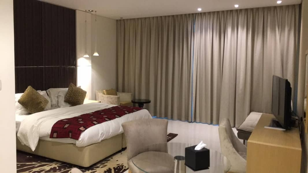Damac Canal Views | 3 B/R + Maids | Fully Furnished Apartment  | 110-k only.