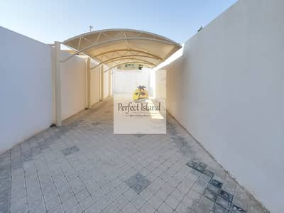 4 Bedroom Villa for Rent in Shakhbout City (Khalifa City B), Abu Dhabi - STONE Brand new | Extension | Yard | Decoration