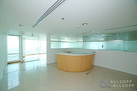 Office for Rent in Jumeirah Lake Towers (JLT), Dubai - Fully Fitted | High Floor | Half Floor Office