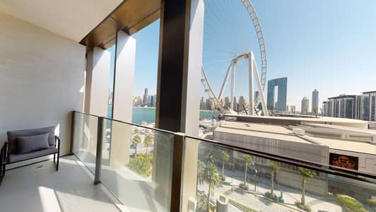 3 Bedroom Apartment for Rent in Bluewaters Island, Dubai - AED 1000 commission only | Ain views | Free maintenance