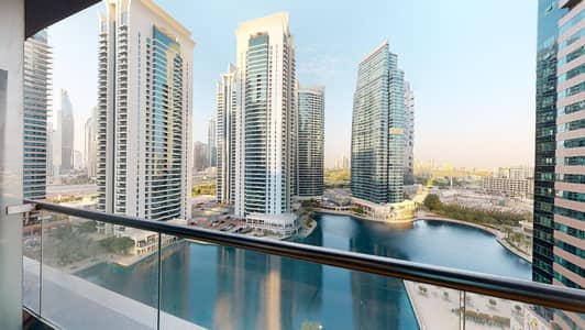 Studio for Rent in Jumeirah Lake Towers (JLT), Dubai - AED 1000 commission only | Lake views | Balcony