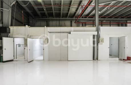 Warehouse for Rent in Mussafah, Abu Dhabi - Custom Temperature and Affordable Cold Storages for Rent