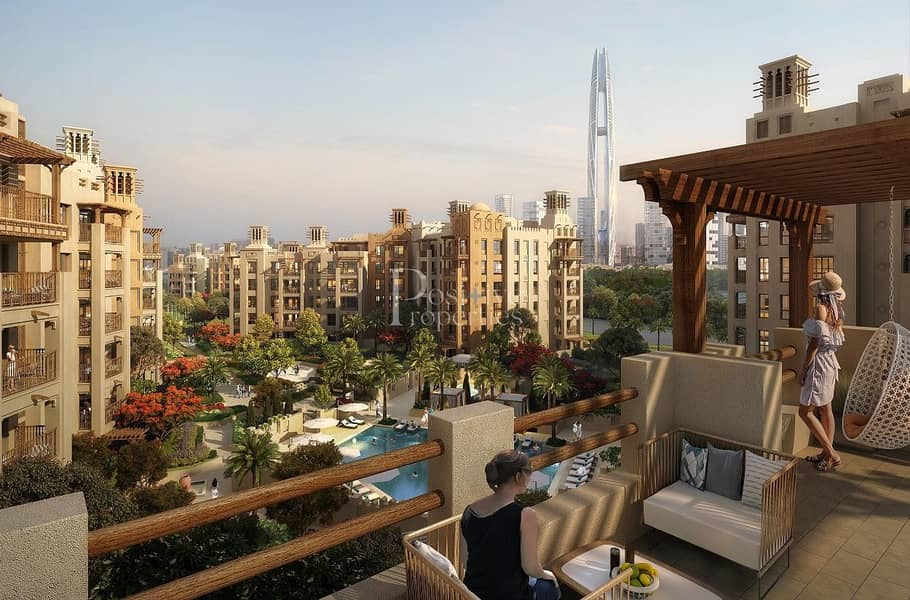 2 First ever Free-Hold |  walking Distance to Burj Al Arab