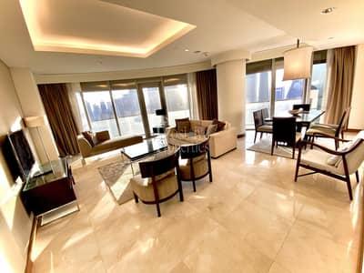 شقة 3 غرف نوم للايجار في وسط مدينة دبي، دبي - Burj Khalifa View | Fully Furnished | All Bills Included