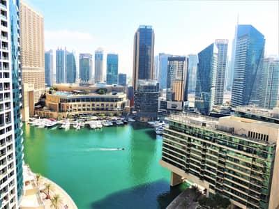 فلیٹ 1 غرفة نوم للبيع في جميرا بيتش ريزيدنس، دبي - Beautiful Marina View | Best Price | Bright