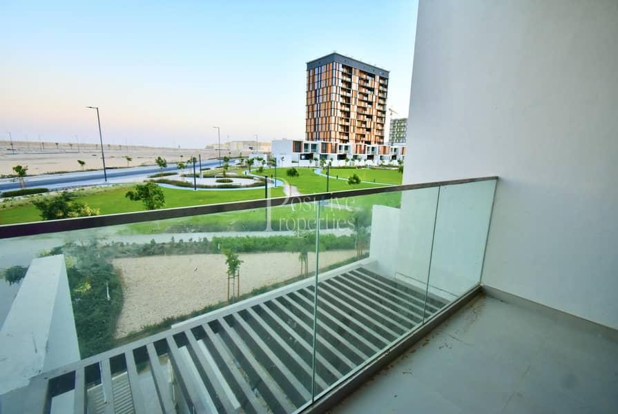 2 Duplex  Private garden  balcony  Park view  Brand new