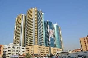 2 Bedroom Apartment for Sale in Ajman Downtown, Ajman - 2Bhk sea view in horizon tower for sale with balcony 3bathrooms in ajman.