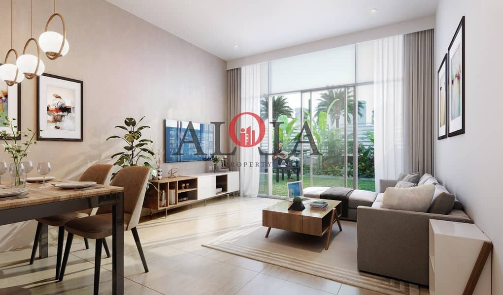 2 2BR furnished + private pool in yas   Cash price