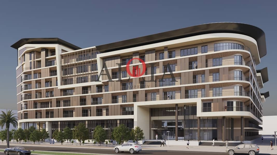 2 1 BR in masdar | no commission | ADM fees waiver