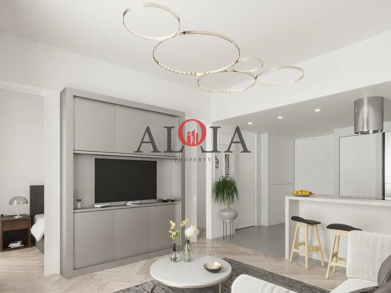 10 1 BR in masdar | no commission | ADM fees waiver
