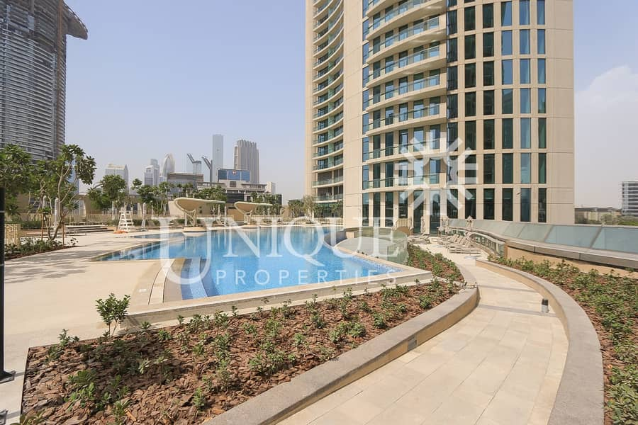 Great Price | 2 Bedrooms | Burj Vista | Vacant