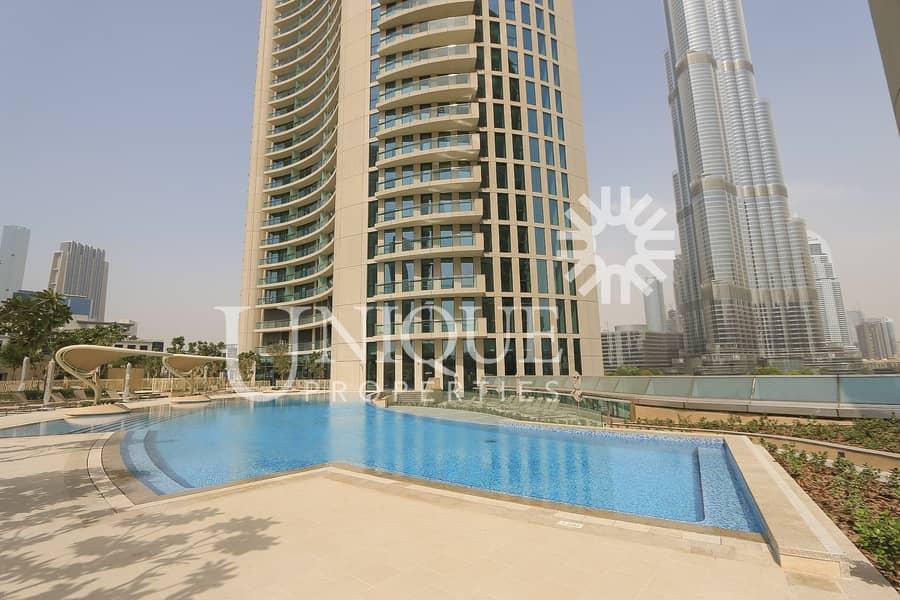 2 Great Price | 2 Bedrooms | Burj Vista | Vacant