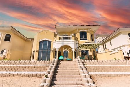 فیلا 4 غرف نوم للبيع في نخلة جميرا، دبي - New To Market | Very High Number | Cityscape Views