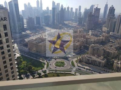 شقة 2 غرفة نوم للايجار في وسط مدينة دبي، دبي - Fully Furnished  Full burj view   Vacant by 110k