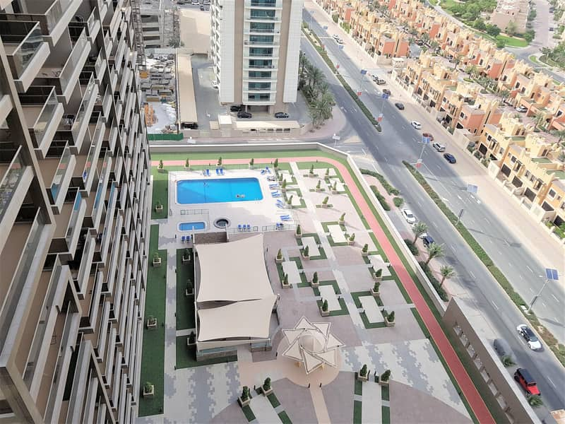 11 Furnished 1BR  Golf Course & Pool View   32 k