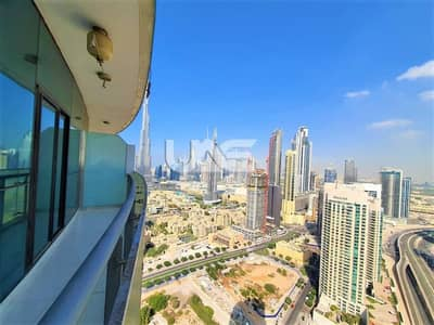 2 Bedroom Apartment for Rent in Downtown Dubai, Dubai - Burj Khalifa View  | Luxurious 1 Bedroom | AED 65k in 1 cheque