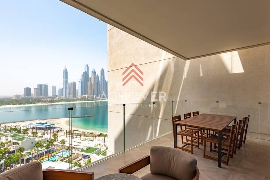 Stunning 3BR | Sea View | Fully Furnished