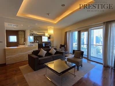 فلیٹ 1 غرفة نوم للايجار في وسط مدينة دبي، دبي - 1 bed | Dubai Mall Address | All Inclusive