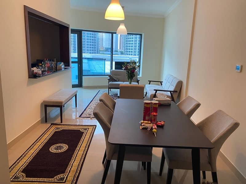 2 Newly Furnished- Low Floor- Marina View