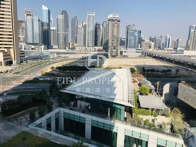 1 Bedroom Flat for Rent in Business Bay, Dubai - 1BR with Extra Room I Low Floor I Large Kitchen