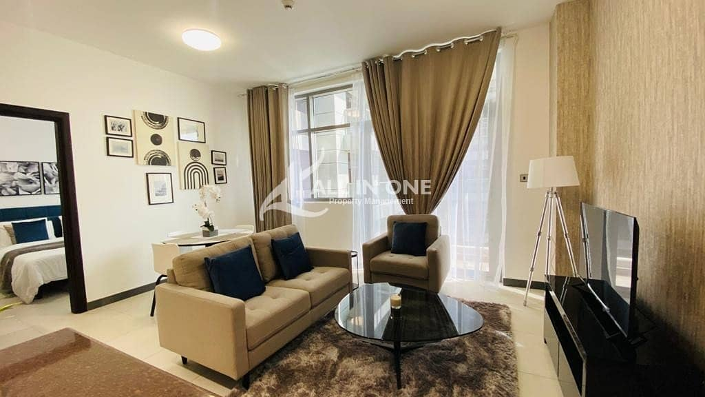 Superb lifestyle! Brand New Furnished 1BR with Parking