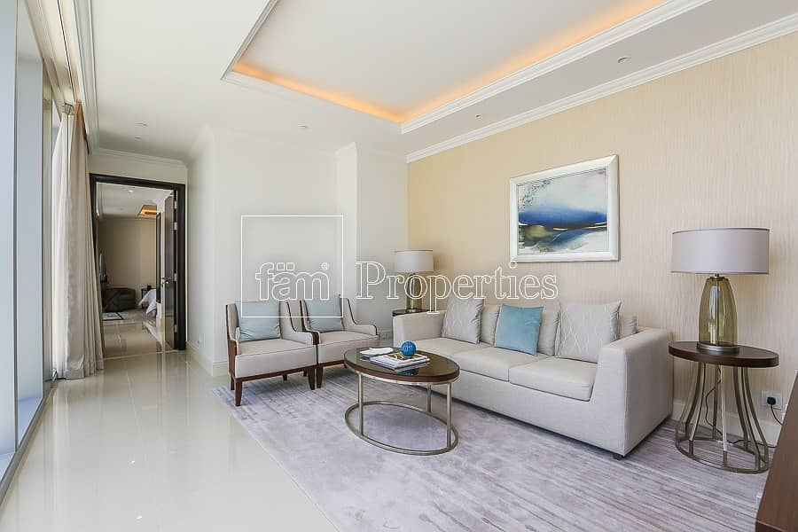 Spacious apartment great deal full burj view