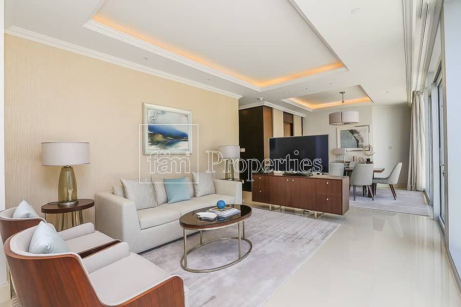 2 Spacious apartment great deal full burj view