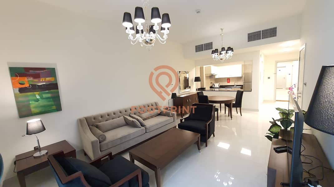 Spacious - Large Fully Furnished 1 BR