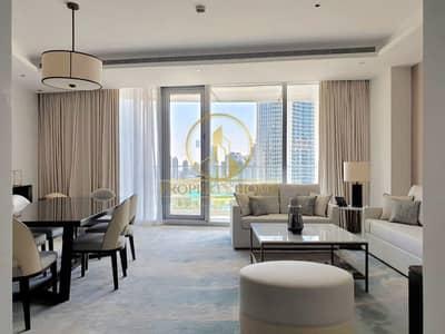 فلیٹ 2 غرفة نوم للايجار في وسط مدينة دبي، دبي - Khalifa View| Real Listing| All Bill Inclusive