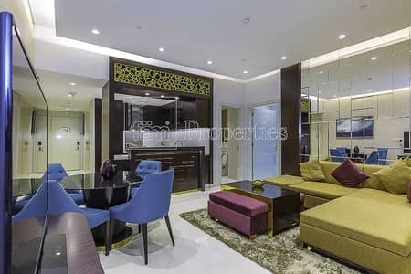 1 Bedroom Flat for Rent in Downtown Dubai, Dubai - Large Layout | High Level Unit | Top floor