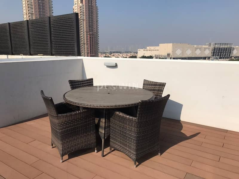 27 Chiller Free | 2BR apt  upgraded to   3BR | 2 Covered Parkings| Landscape View