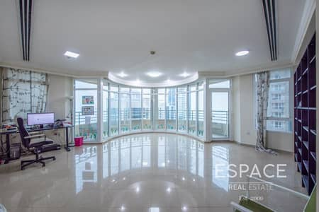 4 Bedroom Apartment for Sale in Dubai Marina, Dubai - 4 Bed Plus Maids Apartment Marina Crown