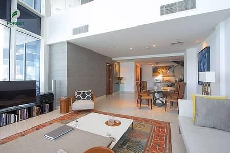 فلیٹ 3 غرف نوم للبيع في الخليج التجاري، دبي - Fully Furnished Duplex | 3 Beds | Canal View