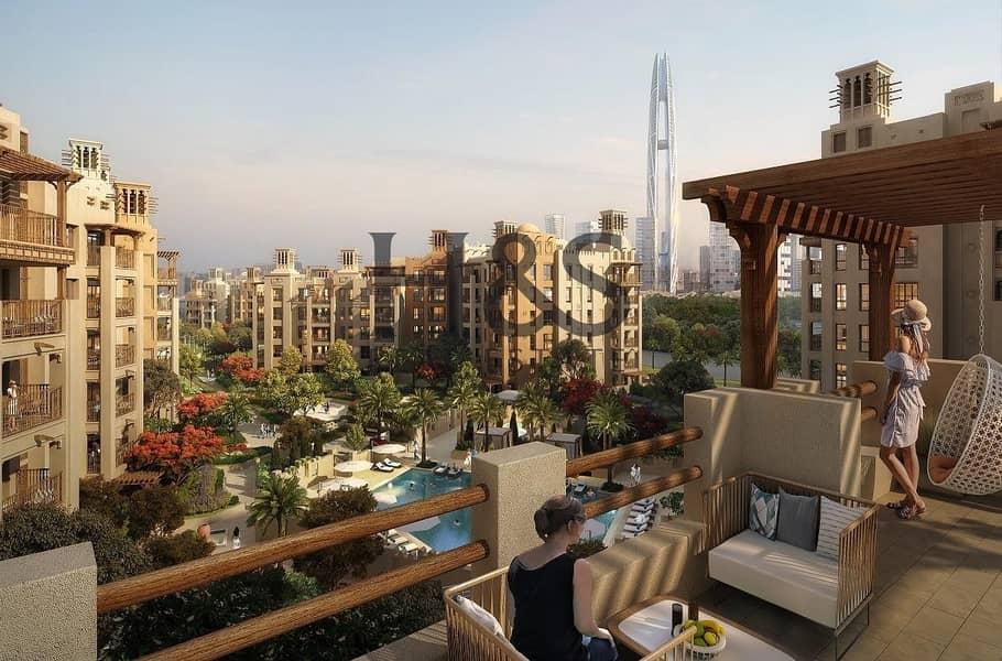 2 Overlooking Burj Al Arab I 2 Yrs Post Handover I MJL