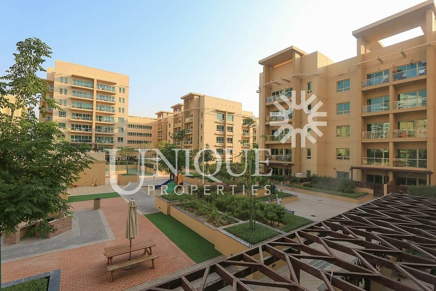 10 Pool view Fully Furnished 1 BR | Ready to Move
